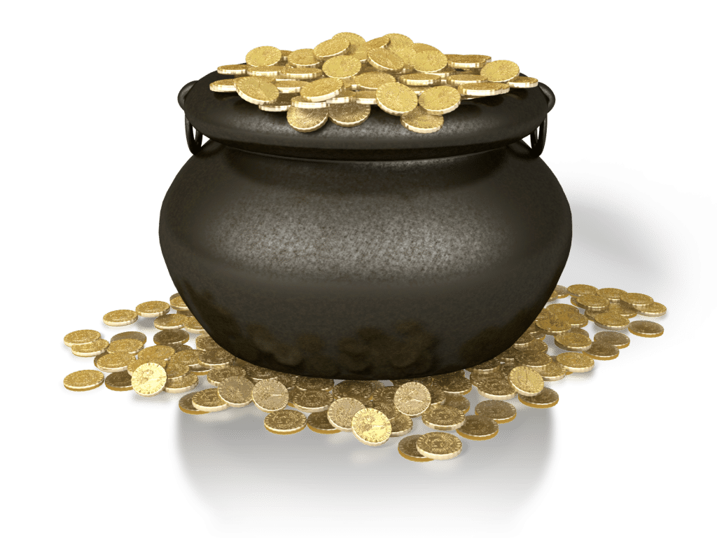 the pot of gold Utility workers in the netherlands struck gold while laying drain pipe at a construction site earlier this month.