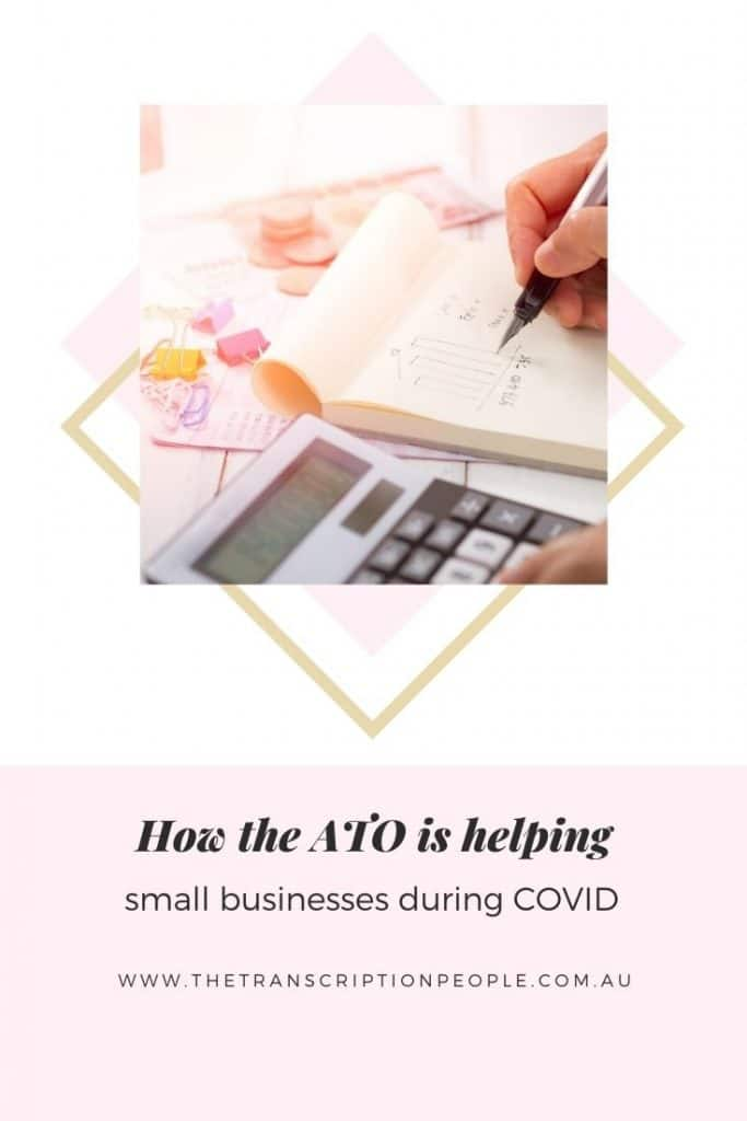 ATO is helping small business during COVID