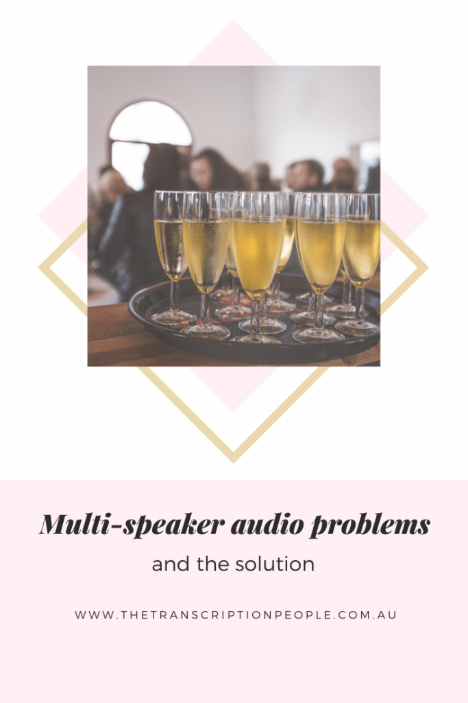 multi speaker audio problems